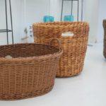 天然素材?! 洗える手編みバスケット