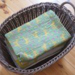 洗濯カゴや遊びグッズ収納にも使える 洗える手編みバスケット