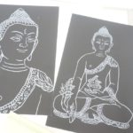 心のセルフメンテナンスができるスクラッチアート削仏プログラム
