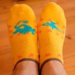 デザインがかわいい女性用大きいサイズの靴下