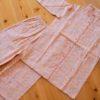 綿100%のビエラ起毛素材かわいいminilaboパジャマ