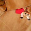 襟からひょっこり リトルミィのコート