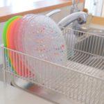 新潟県燕市で作られた食器洗いがはかどる水切りカゴ