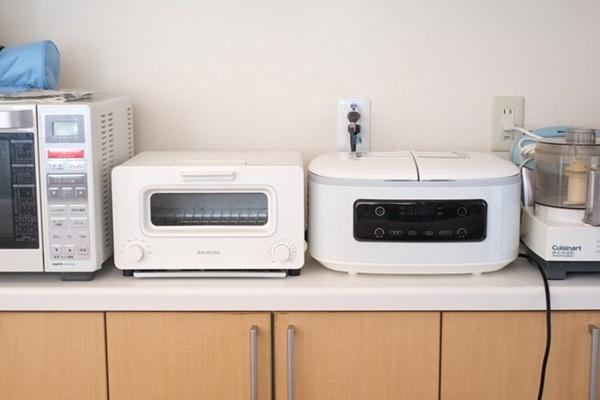 ツインシェフのサイズ トースターとの比較