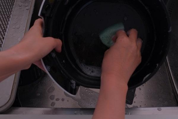 カラットフライヤー洗い方